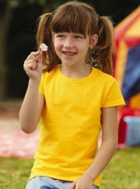 Meiteņu T-krekls ar LOGO
