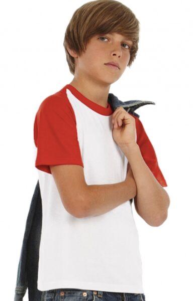 Divkrāsu T- krekls ar LOGO